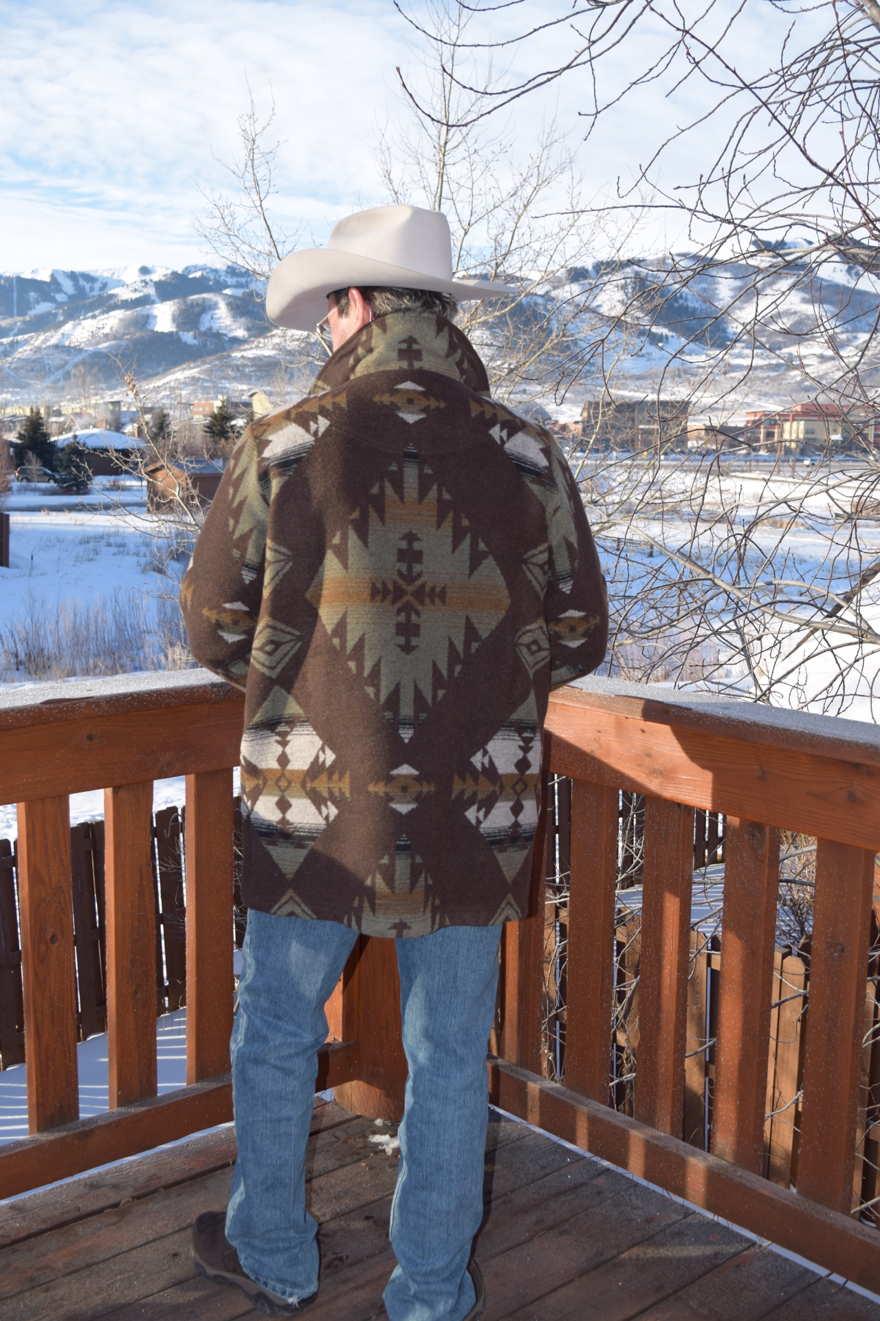 #M858TKS - KEMOSABE MEN'S TALL TRAIL COAT - 3X ONLY - SALE $199.95