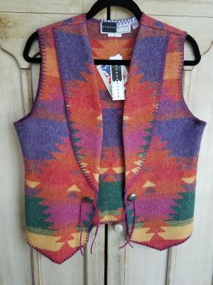 #125FI - FIESTA WEST VEST - L & XL ONLY! WAS $109.95 - NOW $89.96